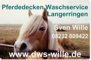 Pferdedecken Waschservice Wille Langerringen, waschen, imprägnieren und desinfizieren von Pferdedecken und Schabracken